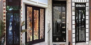 Fatih Mahallesi bina kapısı tamiri