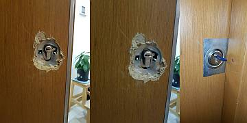 Fatih Mahallesi kapı tamiri